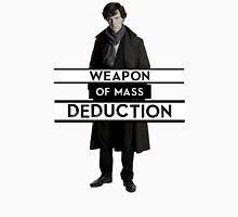 Sherlock - Weapon of Mass Deduction Unisex T-Shirt