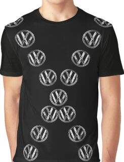 VW Volksvagen logo Graphic T-Shirt