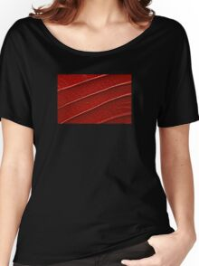 Nature in red Women's Relaxed Fit T-Shirt