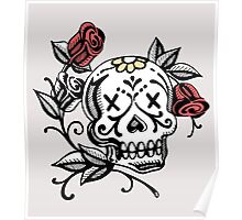 Deads day illustration Poster