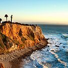 Point Vicente Lighthouse in Palos Verdes  by K D Graves Photography