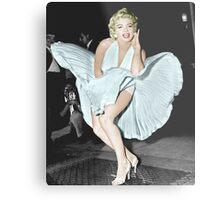 Marilyn Monroe in Colour Metal Print