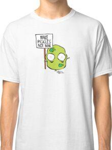 Make Pickles Not War Classic T-Shirt