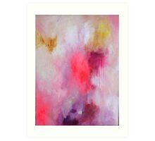 Blush Song #1 Original Painting by Rachael Rice Art Print