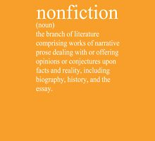 Non-Fiction Definition Unisex T-Shirt