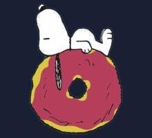 snoopy love donuts Kids Tee