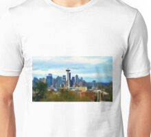 Tilt Shift Seattle Unisex T-Shirt