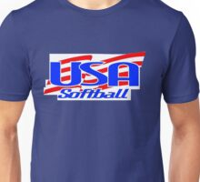 Team USA Softball Logo Unisex T-Shirt