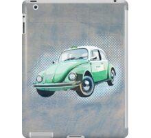 Retro beetle taxi iPad Case/Skin