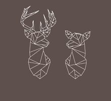 Geometric Stag and Doe Unisex T-Shirt