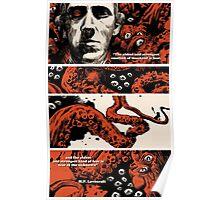 Howard Philips Lovecraft Halloween Poster