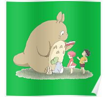 play with totoro Poster