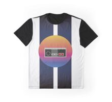 Retrowave Controller Graphic T-Shirt