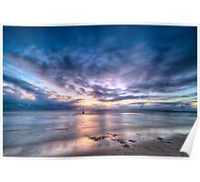 Cottesloe Sunset 6 Poster