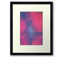 Don't Look Down Framed Print