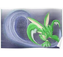Scyther PokePainting Poster