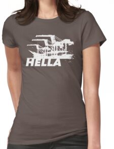 Hella Womens Fitted T-Shirt