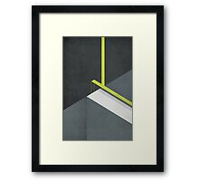 Off The Deep End Framed Print