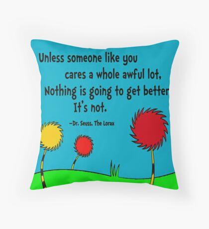 Unless   Throw Pillow