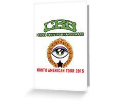The Chris Robinson Brotherhood Greeting Card