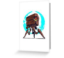 Other Robot tripod  Greeting Card