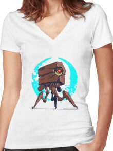 Other Robot tripod  Women's Fitted V-Neck T-Shirt
