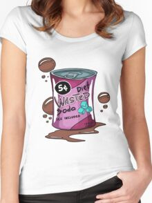 Wasted Soda Women's Fitted Scoop T-Shirt
