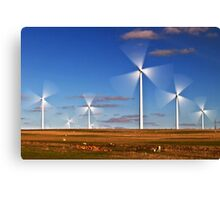 Windfarm Canvas Print