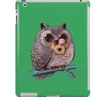 Owl and Mouse iPad Case/Skin