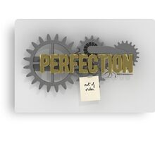 Perfection (out of order) Canvas Print