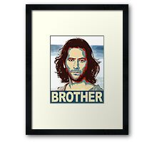Lost - Desmond Brother Framed Print