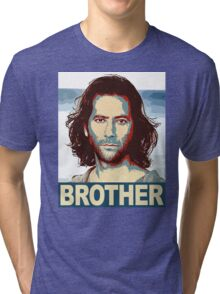 Lost - Desmond Brother Tri-blend T-Shirt