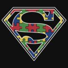 Autism Awareness Super Hero Shirt by Muggies