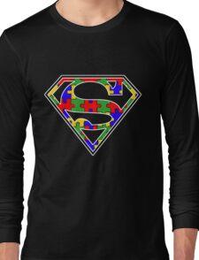Autism Awareness Super Hero Shirt Long Sleeve T-Shirt