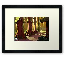Gravity falls Framed Print