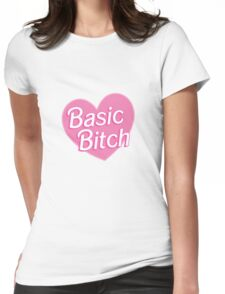 Basic Bitch Sky  Womens Fitted T-Shirt