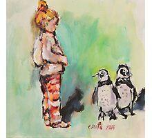 Penguin princess Photographic Print