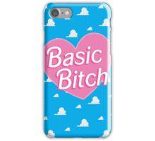 Basic Bitch Sky Blue iPhone Case/Skin