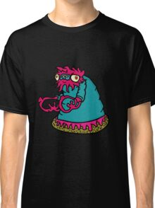 Pink donut monster Classic T-Shirt