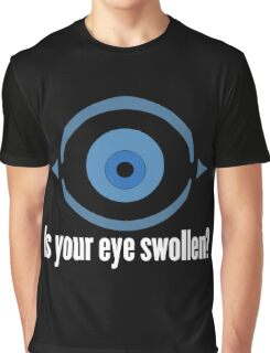 Invader Zim- Swollen Eye Symbol Graphic T-Shirt