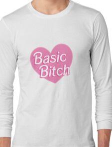 Basic Bitch Purple Long Sleeve T-Shirt