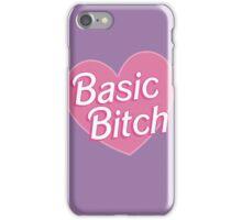 Basic Bitch Purple iPhone Case/Skin
