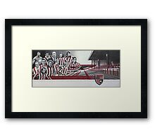 Legends of the Victoria Ground Framed Print