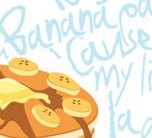 Banana Pancakes Sticker