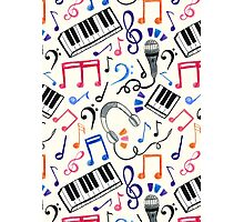Good Beats - Music Notes & Symbols Photographic Print