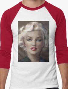 MM soft c Men's Baseball ¾ T-Shirt