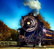 The Western Maryland 734 by ArtbyDigman