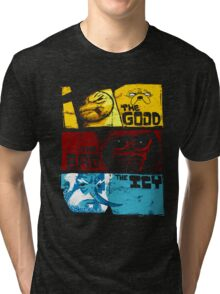 Adventure Time Jake And Finn The Good The Bad Tri-blend T-Shirt