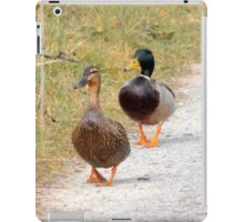 Mr & Mrs duck iPad Case/Skin