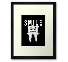 Smile Please Framed Print
